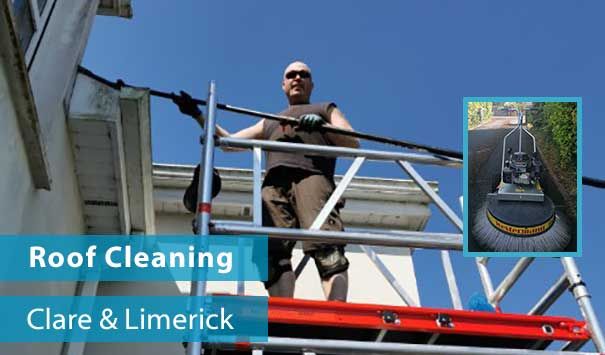 Window Cleaner in Ennis, Clare and Limerick City