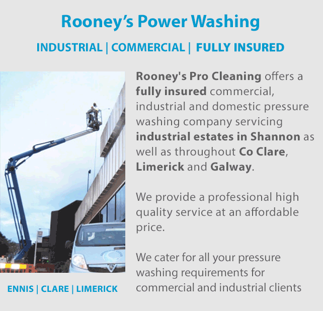 Exterior Cleaning Limerick: Industrial And Commercial Power Washing