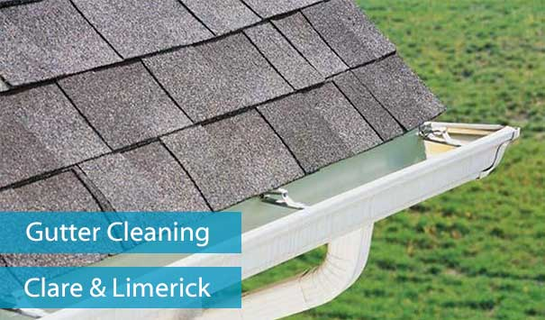 Gutter Cleaner | Gutter Cleaning Service in Ennis, Clare and Limerick City